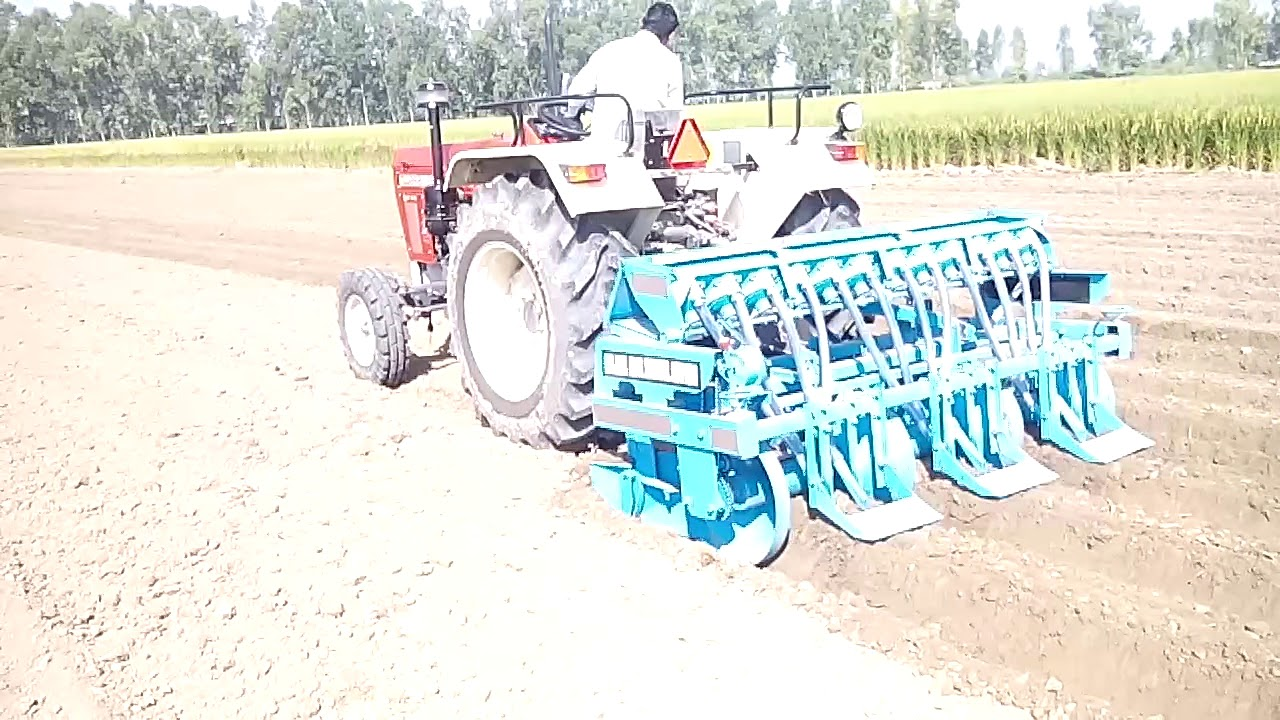 Carrot Gajr Bijai Machine Or All Vegitable Seeds Planter By Sunil