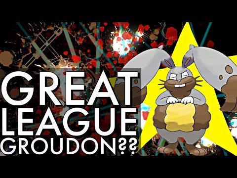 GREAT LEAGUE GROUDON IS A BEAST | GO BATTLE LEAGUE