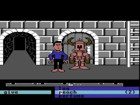 Labyrinth - C64 Lucasfilm game based on the film with David Bowie