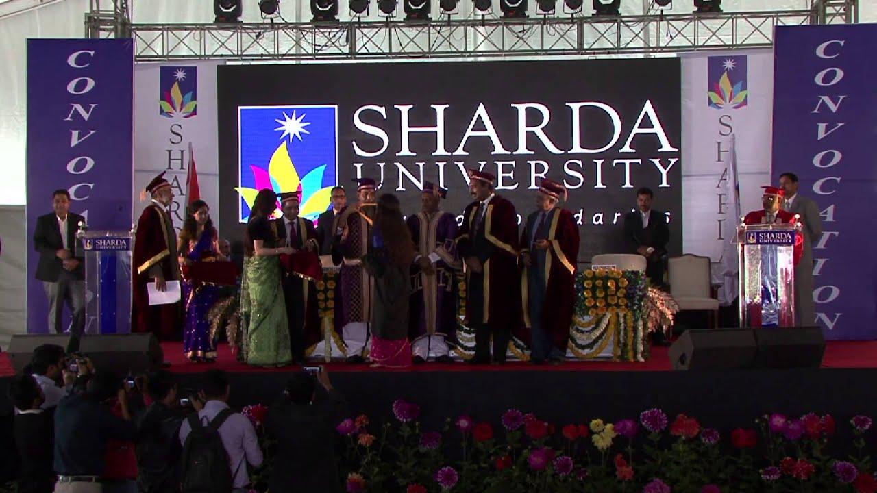 Sharda University Convocation 2015 Youtube