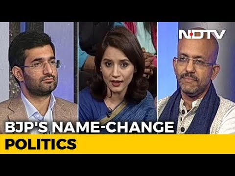 We The People: Will Name-Change Spree Help BJP In 2019?