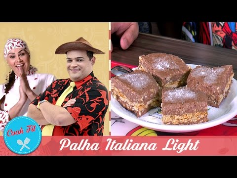 PALHA ITALIANA LIGHT | Cook Fit | Matheus Ceará E Dani Iafelix