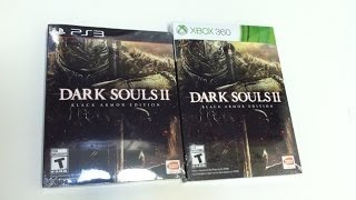 Unboxing Dark Souls 2 -- Black Armor Edition