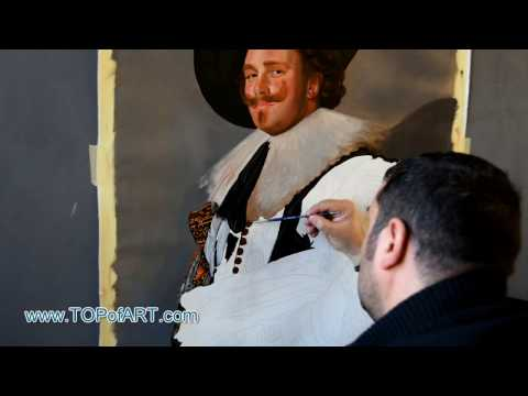 Frans Hals - The Laughing Cavalier | Art Reproduction Oil Painting
