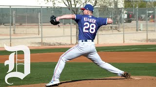 How Rangers pitcher Corey Kluber is a leader of the team, even though he says he's not