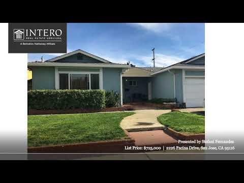 2226 Pacina Drive San Jose, CA 95116