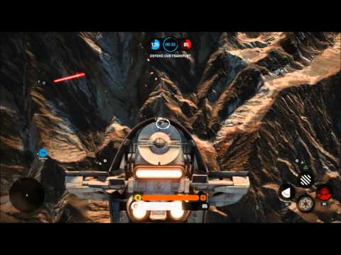 Battlefront 2015: Absolutely Destroying in Fighter Squadron (13 kills, 26 AI kills, 1 death)