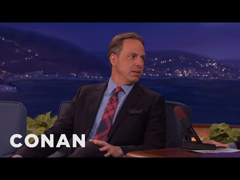 Jake Tapper On Donald Trump & Dirty Politics  - CONAN on TBS