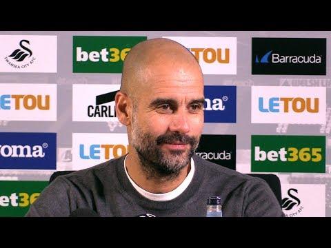 Swansea 0-4 Manchester City - Pep Guardiola Post Match Press Conference - Premier League #SWAMCI