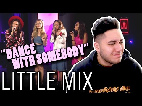 Little Mix - Dance With Somebody (Whitney Houston Cover In The Live Lounge) REACTION!!!