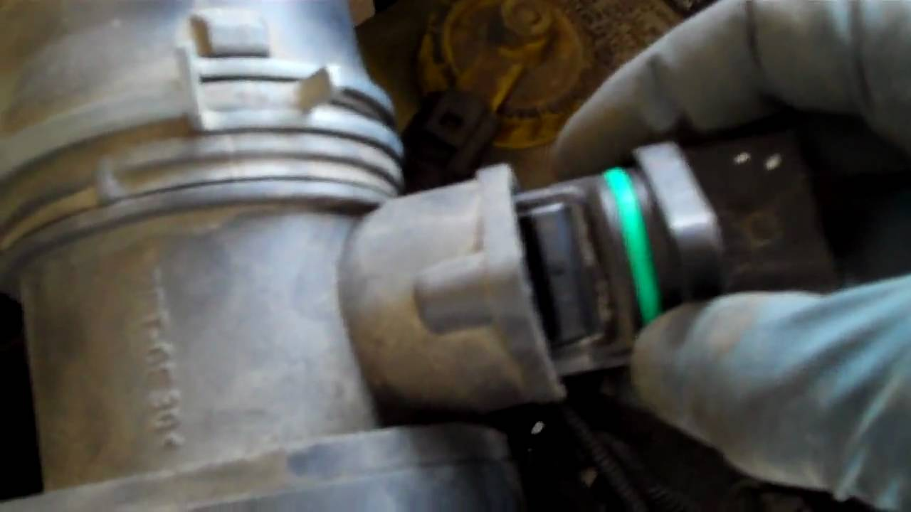 How to fix the MAF Mass Air Flow Sensor on a Volkswagon