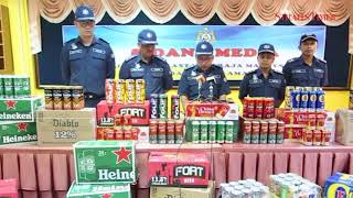 Four arrested, RM52,000 worth of smuggled liquor seized
