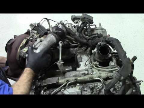 6.6 Duramax engine tear down