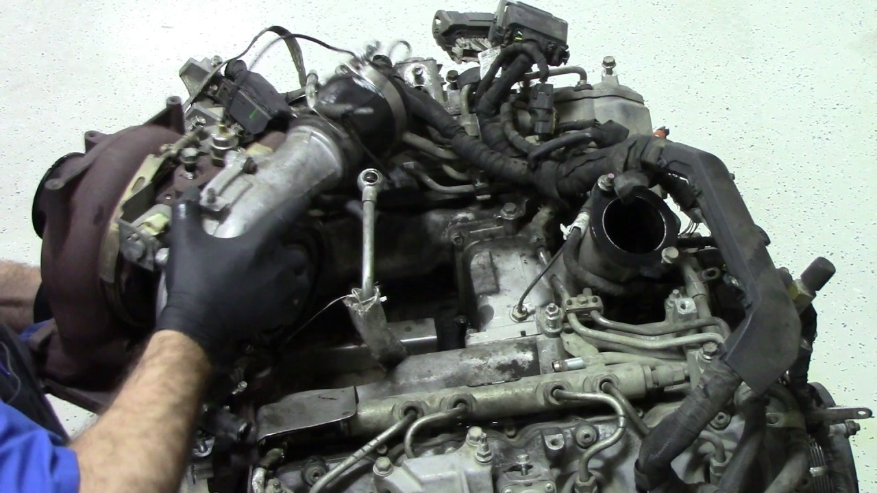 6 6 Duramax Engine Tear Down