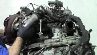 6.6 Duramax engine tear down