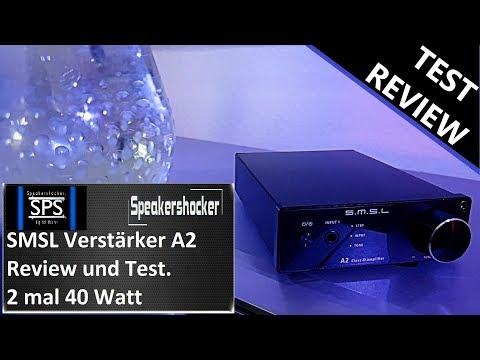 Mini Amplifier SMSL A2 2.1Class D Verstärker Review und Test.