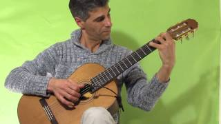 Prelude No.1 in C major(J.S.Bach)-fingerstyle Guitar arrangement By Hagai Rehavia