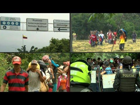 """""""A los venezolanos no nos mata el coronavirus sino el hambre""""   AFP"""