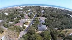 Aerial View of St Augustine Beach   Anastasia Dental