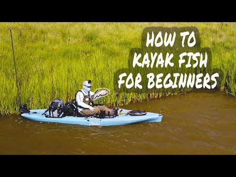HOW TO KAYAK FISH FOR BEGINNERS | Comprehensive Start To Finish Inshore Texas Marsh Fishing