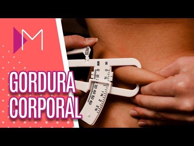Tire suas dúvidas sobre GORDURA CORPORAL - Mulheres (19/02/19)