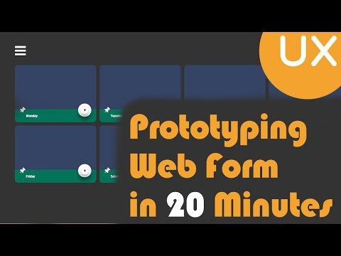 Prototyping Web Form | Axure RP 8