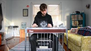 Aphex Twin - Avril 14 on pedal steel