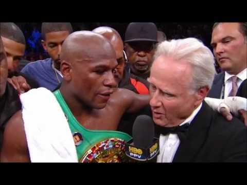 Download Youtube: Mayweather Ortiz Post Fight Interview