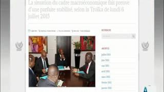 INSTITUTION EN LIGNE AFRIQ DU 10 07 2015