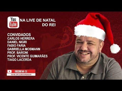 SUPER LIVE DE NATAL DO REI  DIA 10 DE DEZEMBRO AS 21:00