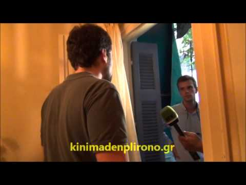"""When the TV network Russia Today (RT) met the greek """"I don't pay movement""""."""