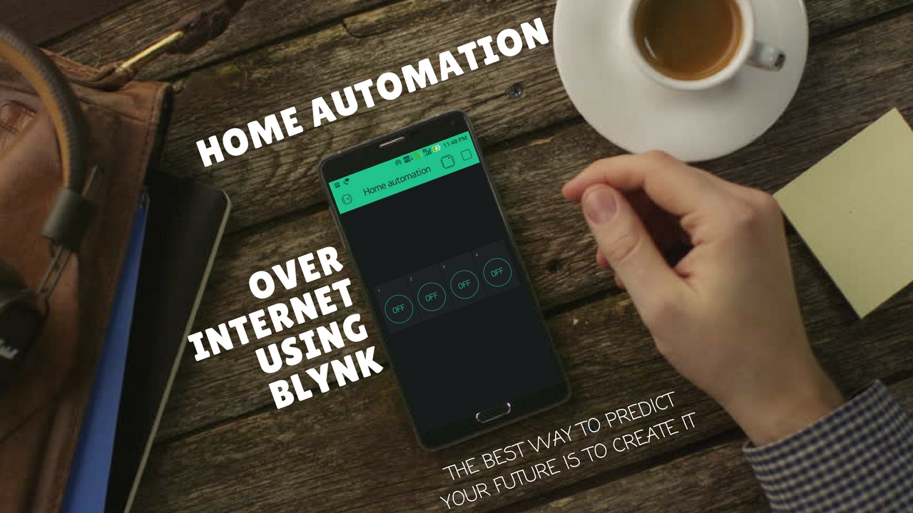 Home Automation Using Blynk: 5 Steps