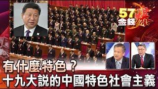 十九大說的中國特色社會主義 有什麼特色  苑舉正、丁萬鳴《金錢爆精選》2017.1023