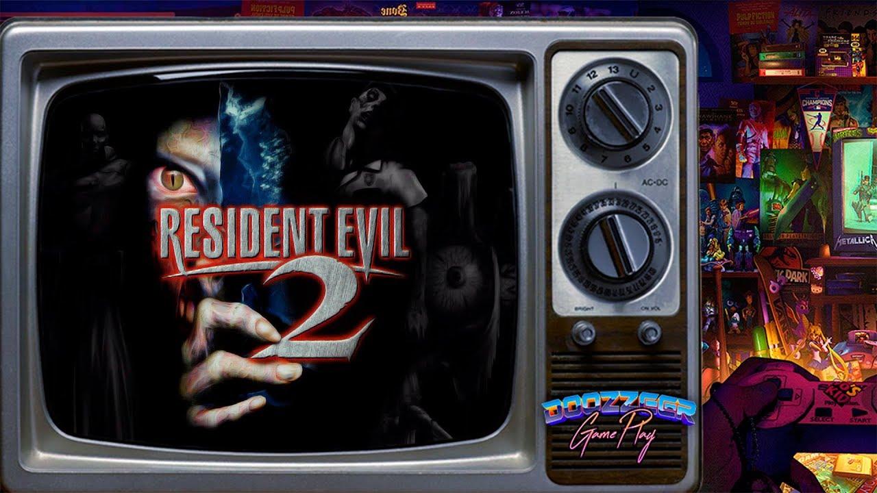 RESIDENT EVIL 2 | Playstation 1 | Игра 90х | Ламповый Стрим | Душевный Вечер | Ностальгия 90х
