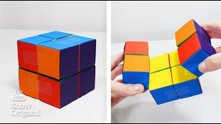 НЕСКІНЧЕННИЙ КУБИК з паперу | Іграшка з паперу | Антидепресант