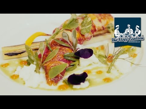 Larry Jayasekara from Gordon Ramsay's Petrus, cooks lobster, venison and chocolate recipes