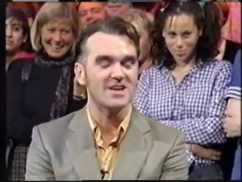 Morrissey interview - Jools Holland (BBC2) (1995)