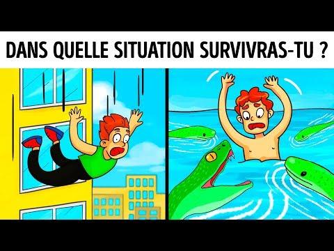 15 nigmes Que tu Dois Rsoudre Pour Survivre Dans Des Situations Dangereuses