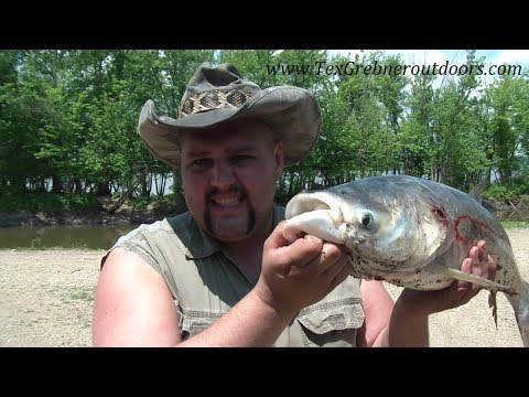 TGO Illinois River Bowfishing Adventure Summer 2014!