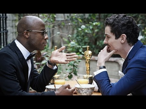 'La La Land's' Damien Chazelle & 'Moonlight's' Barry Jenkins Oscars Cover Shoot