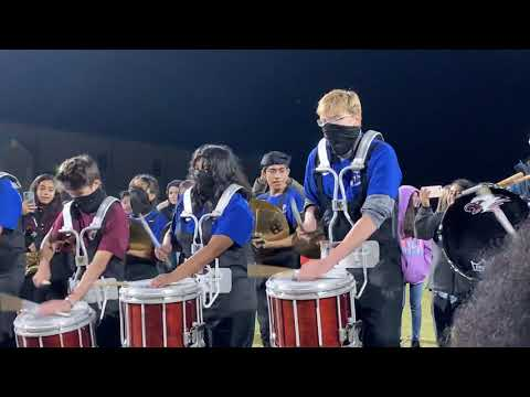 Chestatee High School Drum off against White County Band 11/1/19