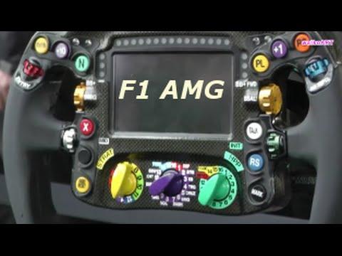 formel 1 lenkrad formula 1 steering wheel mercedes amg. Black Bedroom Furniture Sets. Home Design Ideas