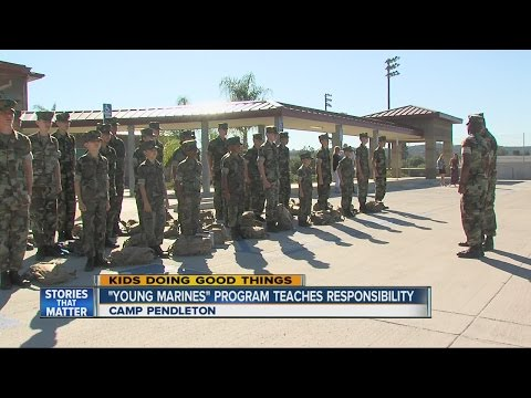 Kids Doing Good Things: 'Young Marines' Program
