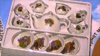 Посуд порцеляноовий, чайний сервіз, у коробці(Посуд порцеляноовий, чайний сервіз, у коробці (арт. 9713-3-4) купить на:http://koop.poltava.ua/igrashki/igrashki-dlya-divchat/69041-posud-farforoviy..., 2016-04-15T11:42:20.000Z)