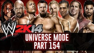 WWE 2K14: Universe Mode - Part 154 - KING OF THE RING!!