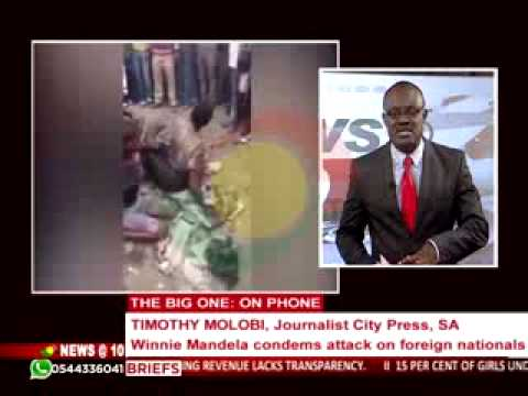 News@10 - Discussing xenophobic attacks in South Africa - 17/4/2015