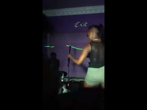Belizean Punta dance off girl #1