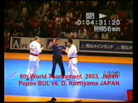 8th World Open Tournament 2003, Tokio, Japan - D.Popov Vs. D. Komiyama (Japan)