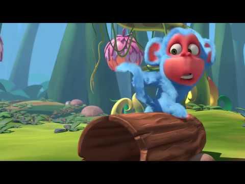 Petualangan Monyet Biru Animasi Anak Anak Youtube