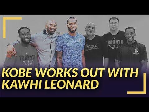 Lakers Rumors: Kawhi Leonard Works Out With Kobe Bryant in LA